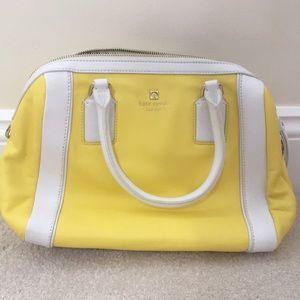 Yellow coach purse